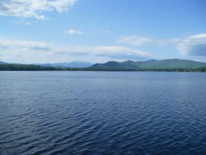 Conway Lake early fall